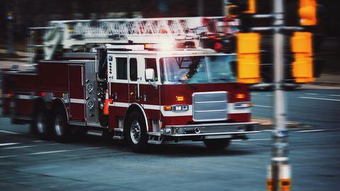 Die Feuerwehr in Lewisville hatte mit einer anderen Art Einsatz gerechnet
