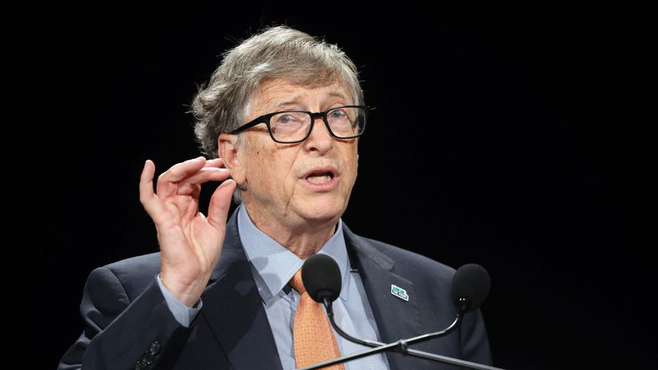 Bill Gates, Vorsitzender der Bill & Melinda Gates Foundation