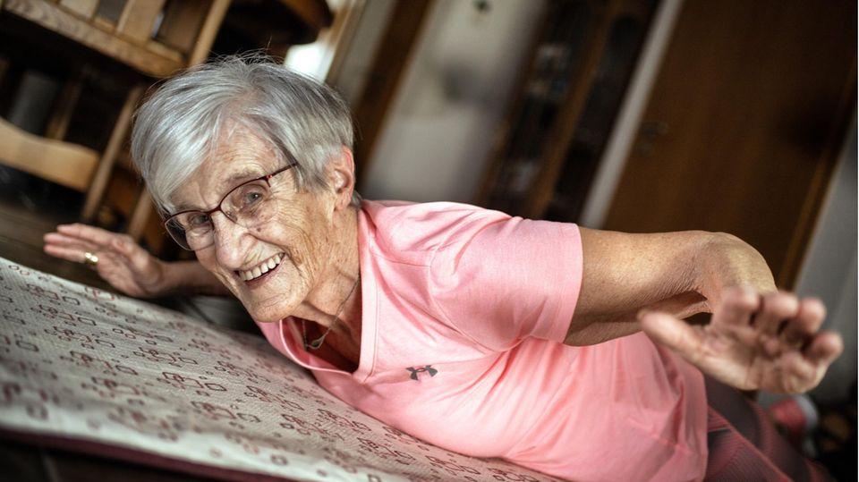 Erika Rischko wurde im Alter von81 Jahren mit Fitnessvideos zum Internetstar