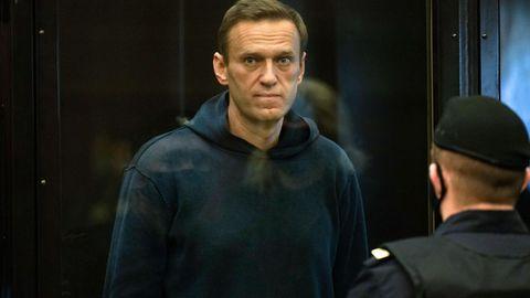 News von heute: Alexej Nawalny im Februar diesen Jahres