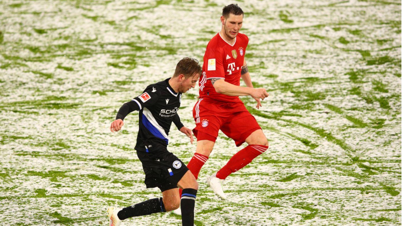 Bayern rutschen im Schnee aus – 3:3 nach Aufholjagd gegen Bielefeld