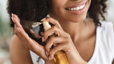Haaröl hilft gegen trockene Haare