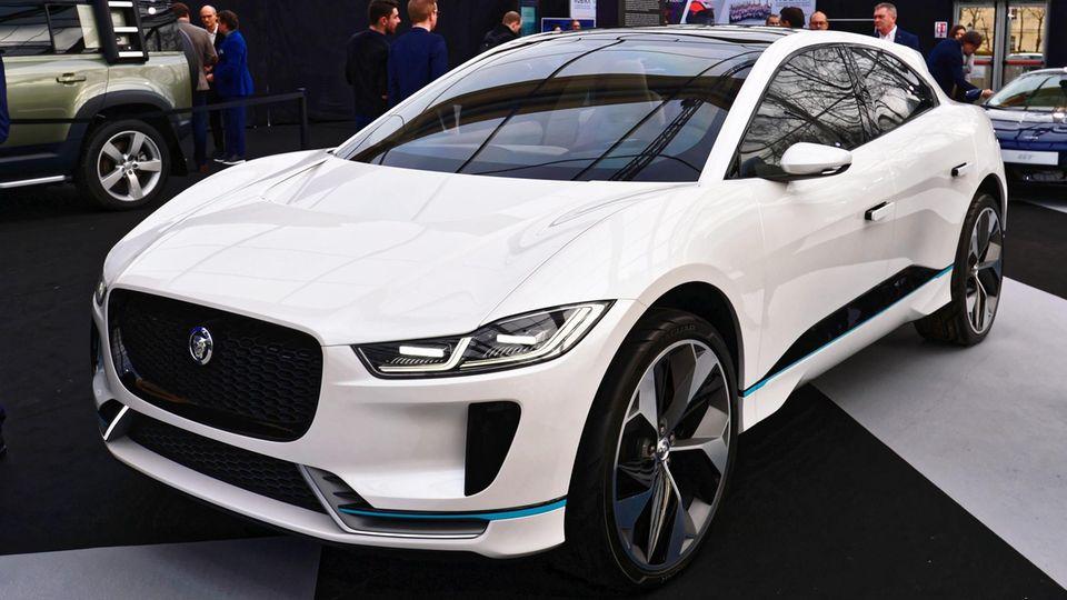 Jaguar will ab 2025 nur noch E-Autos bauen