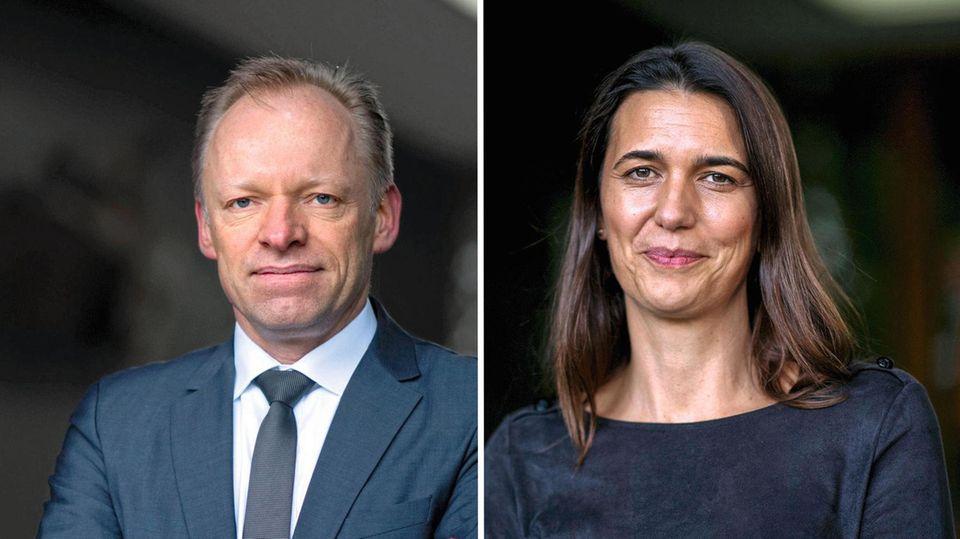Melanie Brinkmann und Clemens Fuest