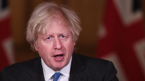 Boris Johnson spricht