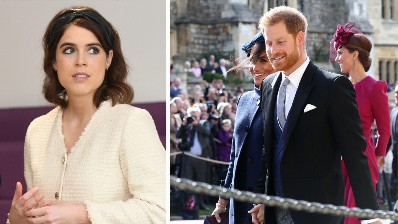 Meghan und Harry: Haben sie Prinzessin Eugenie die Show gestohlen? - STERN.de