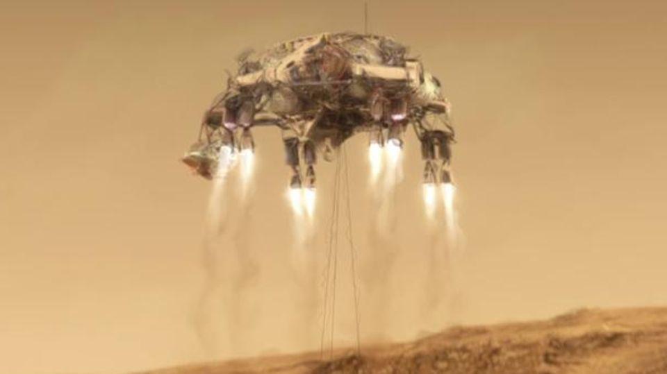 """Rover """"Perseverance"""" landet auf Mars"""