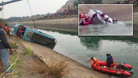 Chronologie: Tote und Verletzte bei Busunglücken