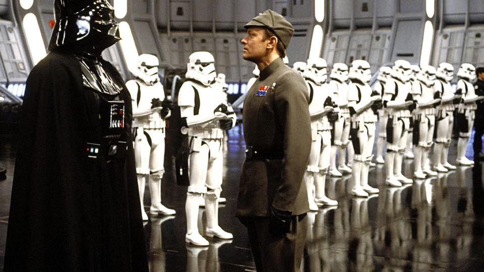 """Darth Vader inEpisode VI """"Rückkehr der Jedi-Ritter"""" aus dem Jahr 1983."""