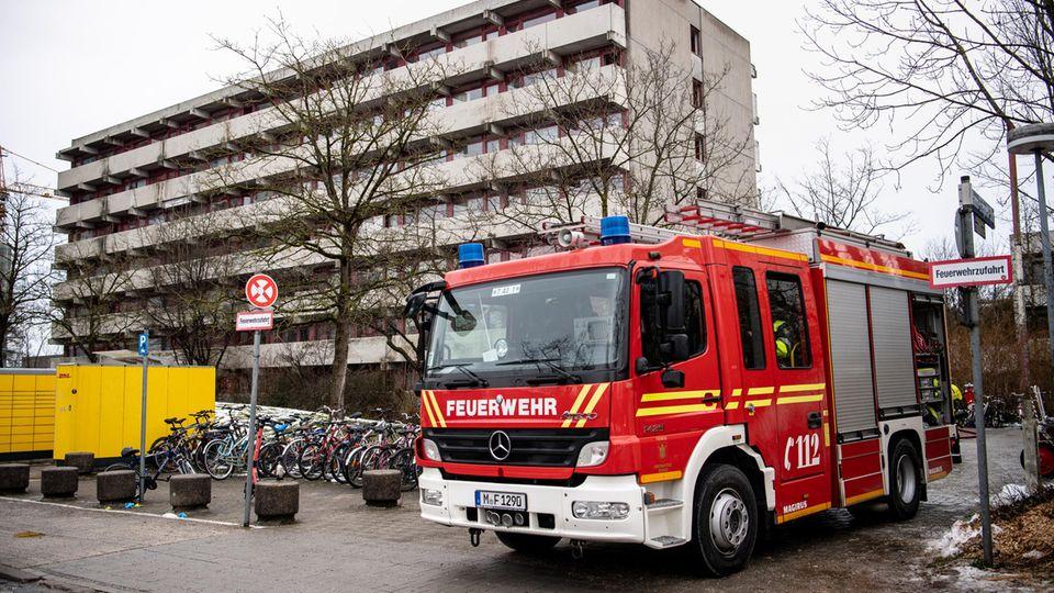 Nachrichten aus Deutschland: Saunabrand in München