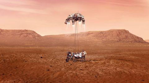 Chronologie: Von Marsnik 1 bis Perseverance – Triumphe und Pleiten der Marsforschung
