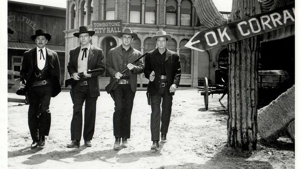 Die Schießerei am O.K. Corral wird regelmäßig verfilmt.