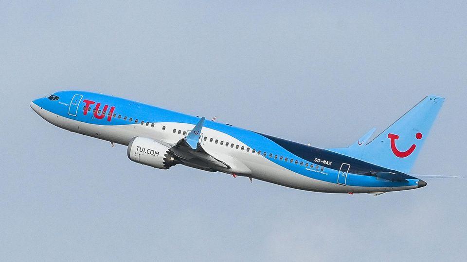 Boeing 737 Max der Tui Fly Belgium