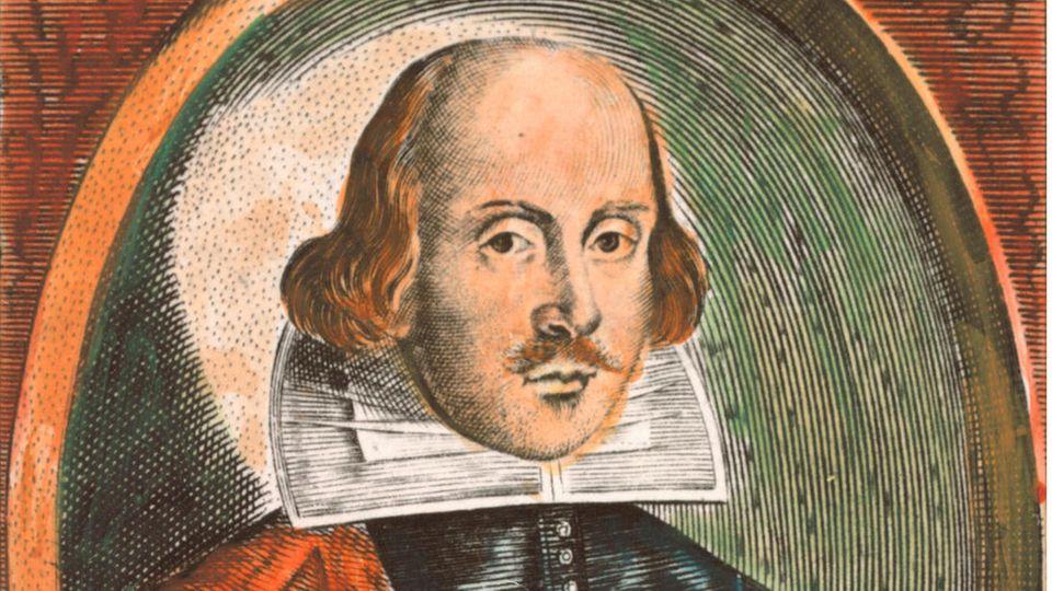 Der britische Dramatiker William Shakespeare