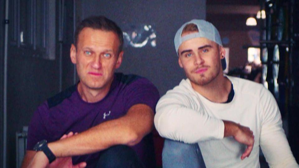 Personal Trainer Björn Leber hat Kreml-Kritiker Alexej Nawalny wieder fit gemacht