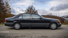 Mercedes SEL 600 war 5,21 Meter lang - zehn Zentimeter mehr als die Standardversion