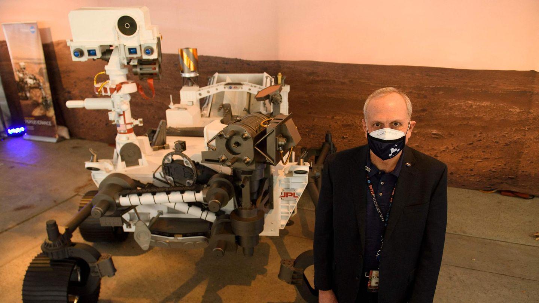 """Der Mars-Rover """"Perseverance"""" undSteve Jurczyk, der kommissarische Nasa-Chef"""