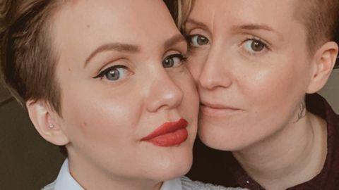 Saga und Felicia Wahlström wollen beide die biologische Mutter ihres zukünftigen Kindes werden