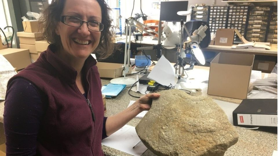 """Ruth Shaffrey von Oxford Archaeology sagt, es handle sich um einen """"extrem wichtigen Fund"""""""