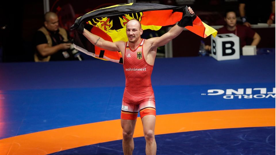 Sportlich, fit, ein Siegertyp: Stäbler nach dem Gewinner der Europameisterschaft in Italien im vergangenen Oktober