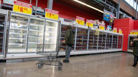 Elektrizität: Nach einem Kälteeinbruch kam in Texas der Stromausfall - und sorgt immer noch für leere Supermarktregale