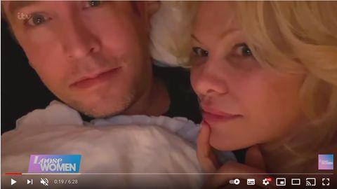 Pamela Anderson und Dan Hayhurst