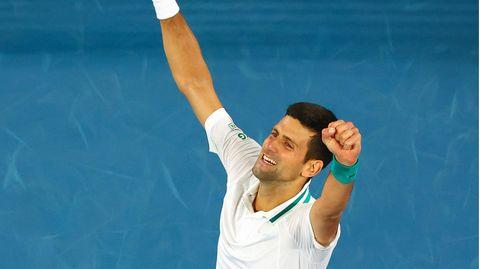 Novak Djokovic hat die Australian Open gewonnen