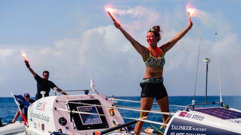 21-Jährige rudert quer über den Atlantik – und stellt neuen Weltrekord auf