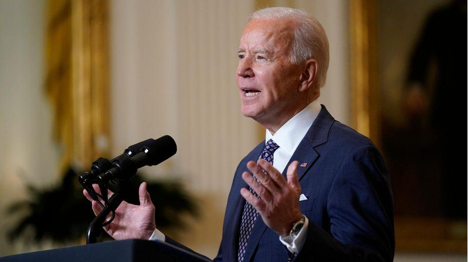 Nach einem Monat im Amt : Was Biden bisher gebracht hat - und was jetzt auf seinem Programm ganz oben steht