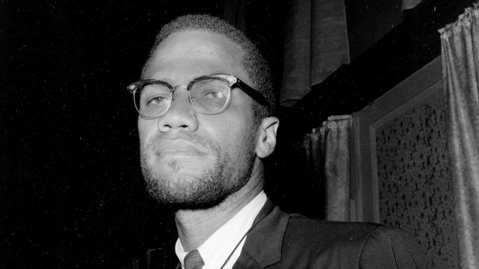 US-Bürgerrechtler Malcolm X im Portrait