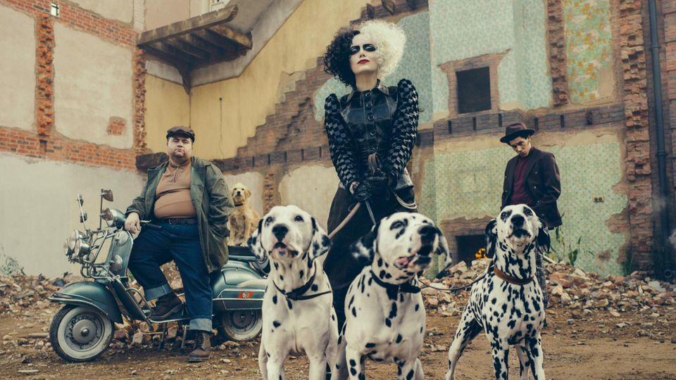 Emma Stone spielt die fiese Cruella de Vil