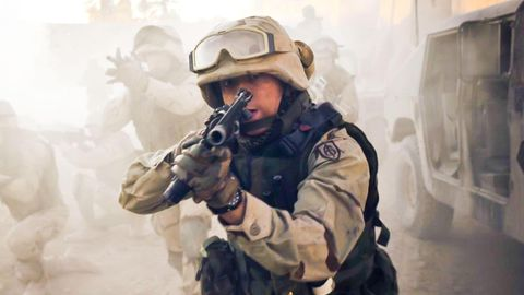 200 Einsätze absolvierte Nico Walker im Irak.