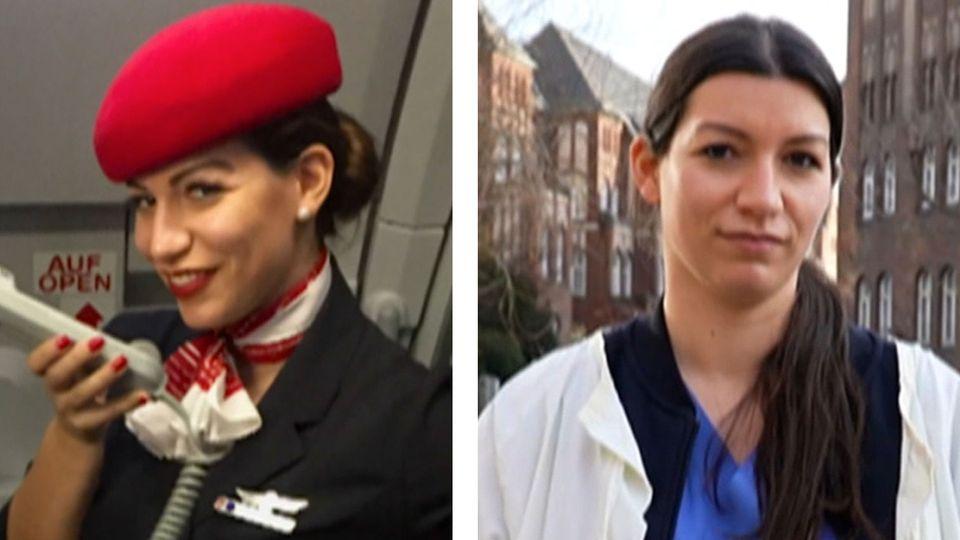 Flugbegleiter in der Pflege