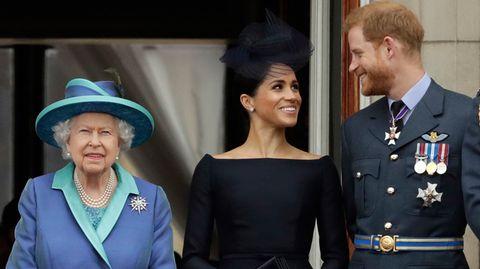 Prinz Harry und seine Frau Meghan haben endgültig mit dem britischen Königshaus gebrochen