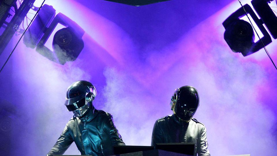 Daft Punk 2006 beim Coachella Festival