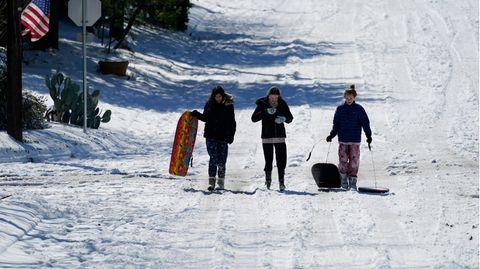 Der plötzliche Kälteeinbruch hat viele Texaner überrascht