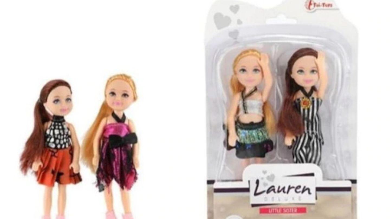 Die Puppen der Marke Toi-Toys werden zurückgerufen