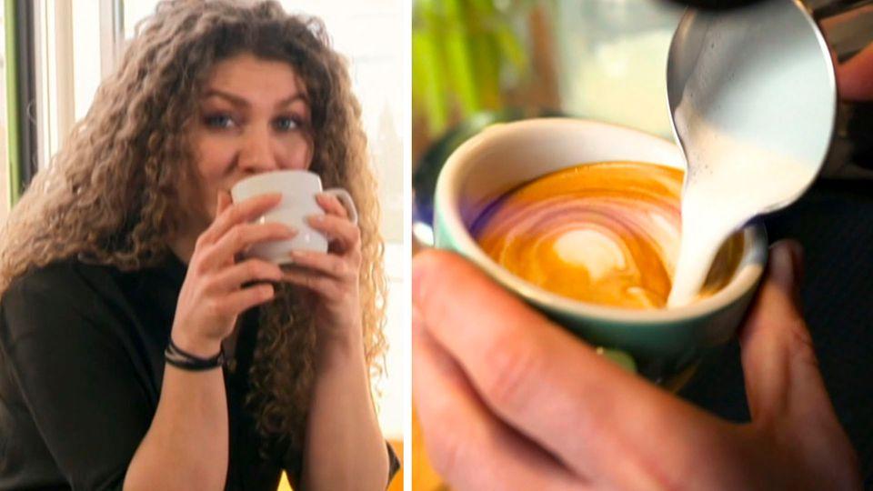 Verkehrtherum und mit Obst verfeinert – Neue Kaffeetrends im Test