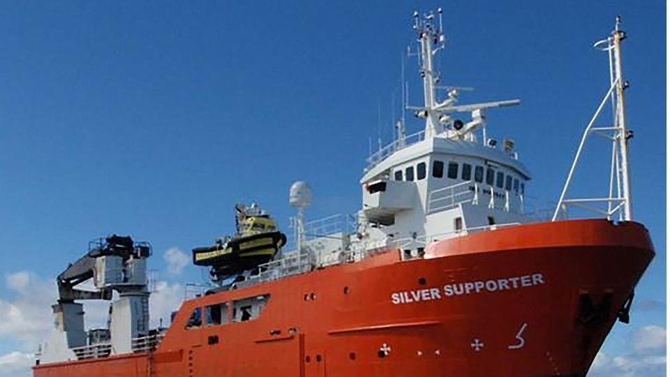Im Morgengrauen ging Vidam Perevertilov von der Silver Supporter über Bord