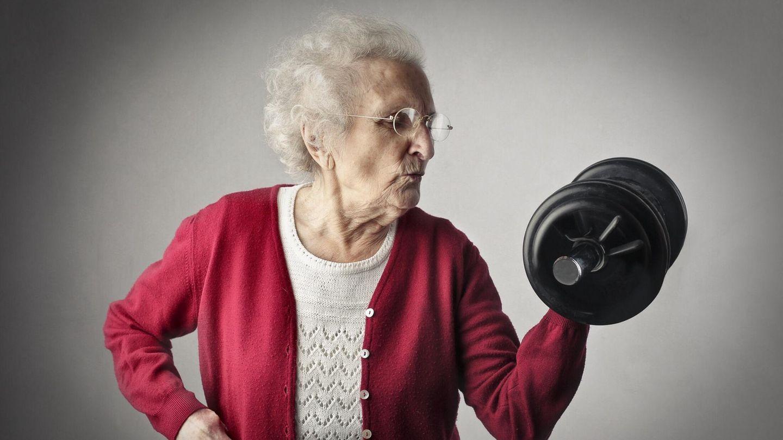 Eine 105-Jährige aus Schottland will endlich wieder Gewichte stemmen