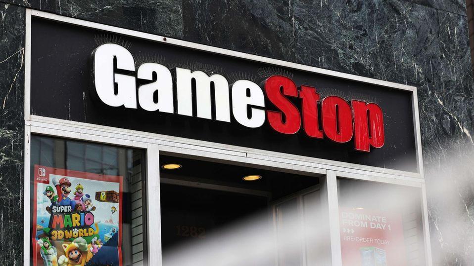 Gamestop-Aktie: Gamestop-Filiale in New York