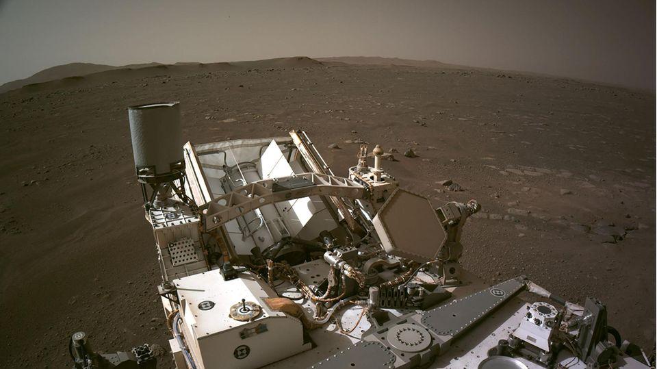 Mars-Panorama Ausschnitt