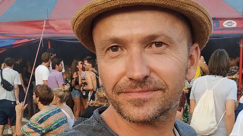 Nils Kratzer bei einem Festival