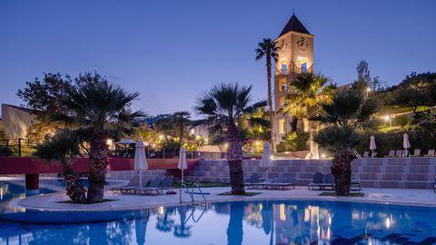 Pool in einem Urlaubsresort auf Kreta in Greichenland