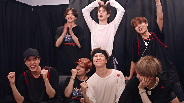 Die südkoreanische Popband BTS
