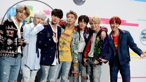 Die südkoreanische Boygroup BTS