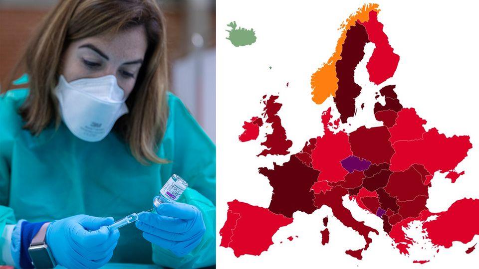 Dritte Corona-Welle in Europa schon im Gange – einem Land werden frühe Lockerungen zum Verhängnis.