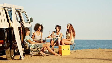 Liegt 2021 im Trend: Reisen im Wohnmobil
