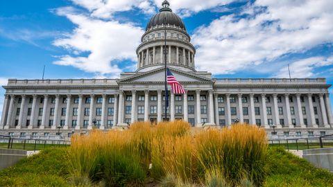 Außenansicht des Utah State Capitol