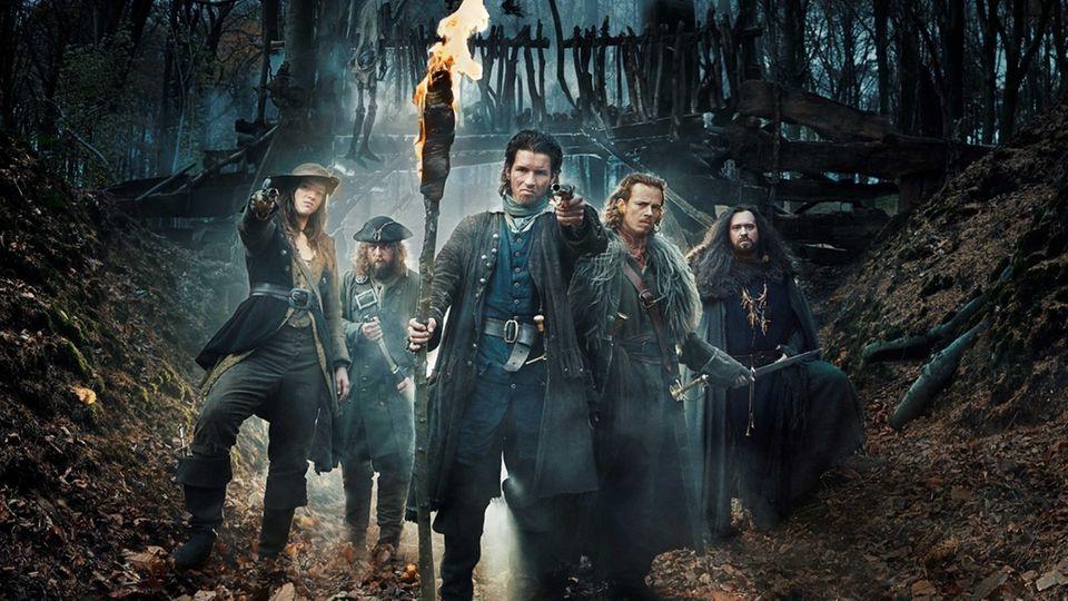 """Die belgische Serie """"Jan de Lichte und seine Band"""" (im Original: The Flemish Bandits) startete 2020 auf Netflix."""